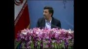 توجه دکتر احمدی نژاد به نماز اول وقت