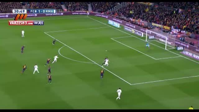 گل رونالدو به بارسلونا