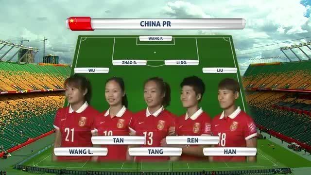 ترکیب : چین VS کامرون (جام جهانی زنان 2015 کانادا)