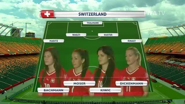 ترکیب : سوئیس VS کامرون (جام جهانی زنان 2015 کانادا)