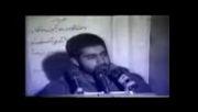 گریه های حاج قاسم سلیمانی مرد مخلص خدا در فراق دوستانش!