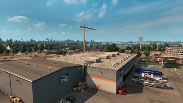 تریلر جدید DLC اسکاندیناوی در بازی EuroTruckSimulator2