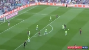 بارسا 7-0 اوساسونا با هتریک لیونل مسی