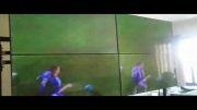 تست نهایی سیستم ویدئو وال با کنترلر MediaLogix با کیفیت 4K ب