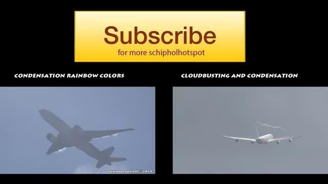 برش ابر توسط ایرباس A380 - دنیای مستند پرواز