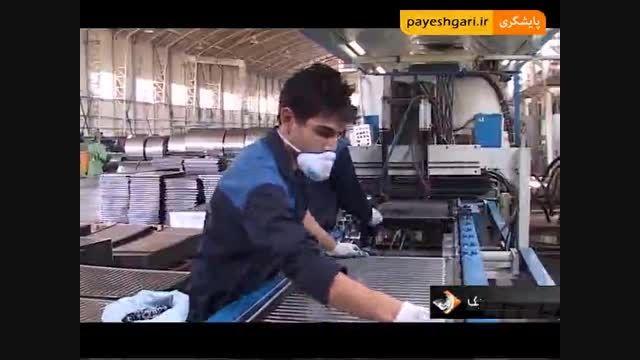 تولید تنها کارخانه رادیاتورهای فولادی کشور