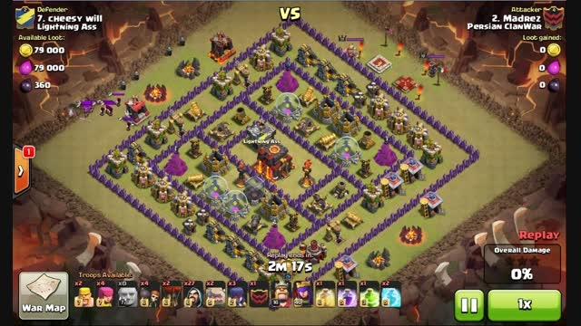 Clash Of Clans- 3 star Attack - Town Hall 10 GoWiWi