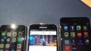 Apple iPhone 6 vs Samsung Galaxy S5 vs iphone 6 plus