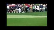 ضربه باورنکردنی در ورزش گلف