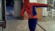 مرد عنکبوتی ساخت خودم و دوستان جنگ با الکترو