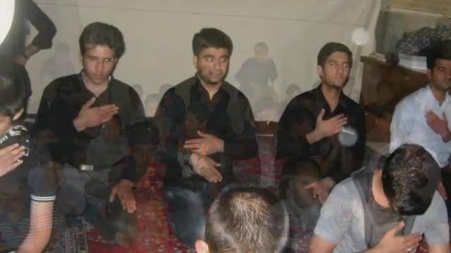 مداحی ابراهیم علیایی هیئت دانش آموزی مسجد وکیل