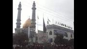 مراسم زنجیر زنی عاشورای حسینی محرم 1393 مسجد حضرت فاطمه