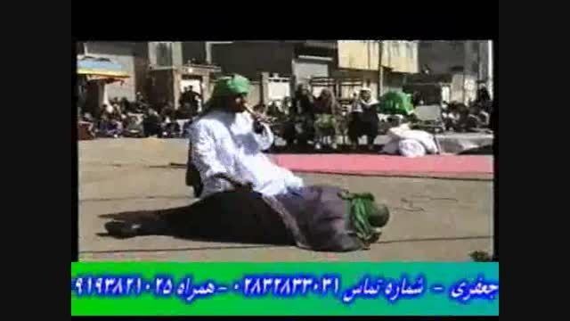 هنر نمایی محسن گیوه کش - احمد گیوه کش در تعزیه امام حسن