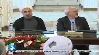 اقای دکتر ظریف و شوخی با اقای صالحی!!
