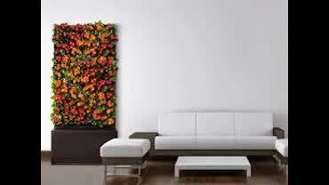 دکوراسیون های زیبای خانگی از گل و گیاه