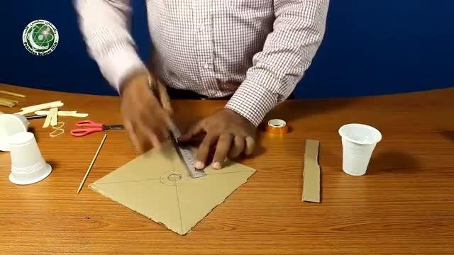 درست کردن مولد بادی (با لوازم ساده)