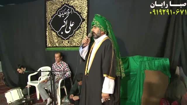 تعزیه حضرت علی اكبروقت امده - مجید اكبری حصار امیر 93