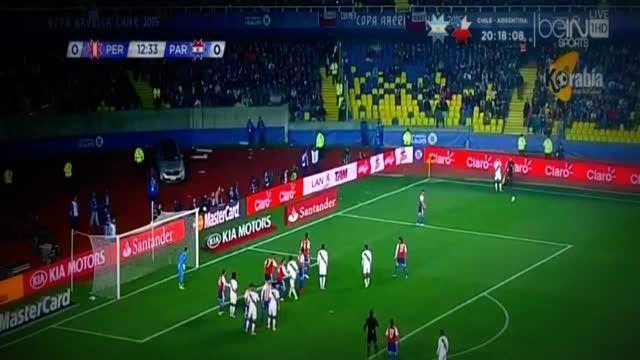 خلاصه بازی : پرو 2 - 0 پاراگوئه (کوپا آمریکا 2015)