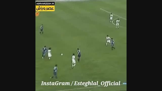 گل استقلال در فینال جام باشگاه های آسیا/ دین محمدی