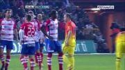 خرانادا vs بارسلونا   1 - 2   گل لیونل مسی