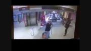 لحظه وقوع حادثه قطار درتونل!!!