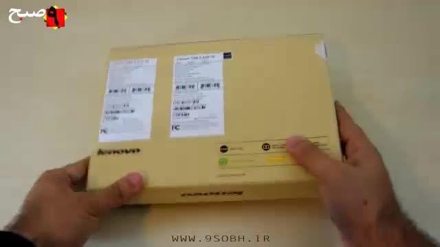 جعبه گشایی تبلت Lenovo Tab 2 A10