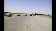 پست اتومبیل رانی استان آ.غ شهرستان میاندوآب . راننده پرشیا سفید خودم هستم