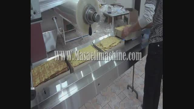 دستگاه بسته بندی نان،نان خشک،نان پیتزا،نان فانتزی