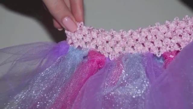 دامن ساده برای دختر خانم های کوچولو