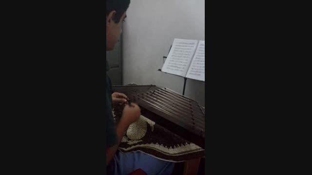 سنتورنوازی در دستگاه ماهور با اجرای مصطفی تراب پور