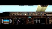فرود 747 در فرانکفورت