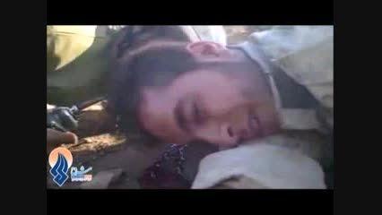 فیلمی تکان دهنده از آخرین لحظه های یک «مدافع حرم»
