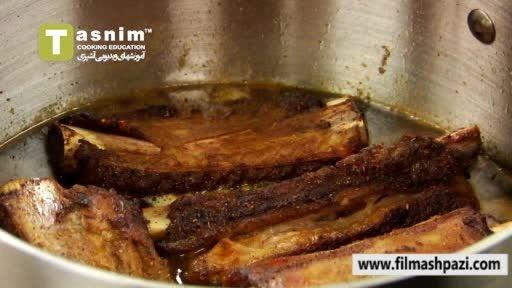 نکاتی در مورد آب پز کردن گوشت و سرو آن