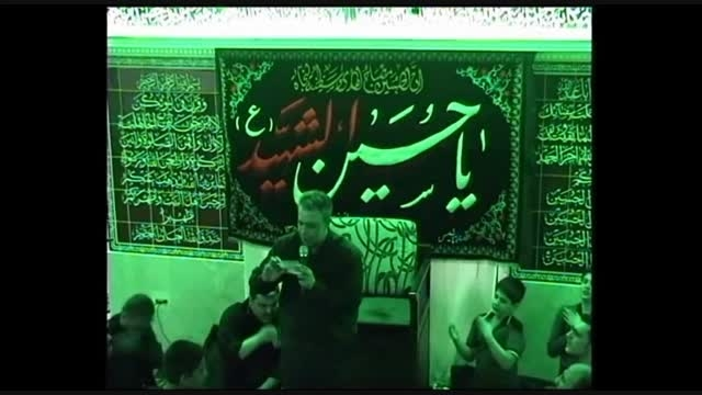 مداحی شب اول محرم - حاج محمد کریمی