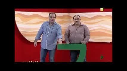 مهران غفوریان و برادرش مهدی غفوریان در برنامه خندوانه