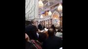 یواشكی حاج منصور ارضی حرم امام حسین ٩٣/٧/٢٥ نیمه شب