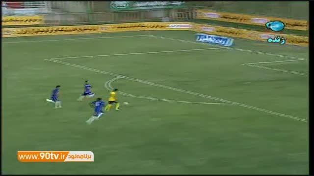 خلاصه بازی: سپاهان ۱-۰ استقلال خوزستان