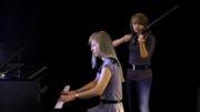 Halo 4_ To Galaxy, Violin and Piano_ Taylor Davis and Lara