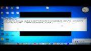 حل ارور  couldnt load image xp در بازی call of duty MW3