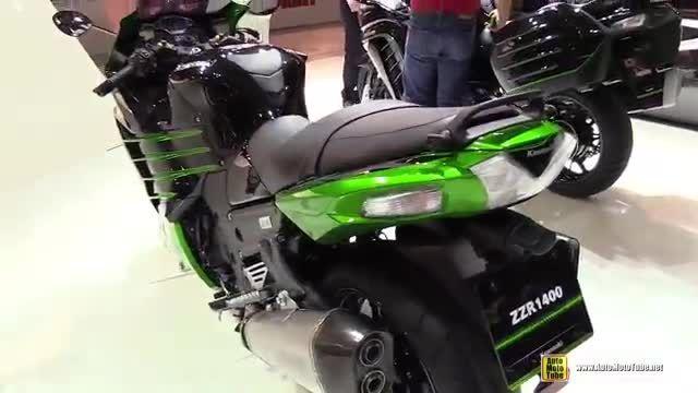 Kawasaki Z.Z.R نمایشگاه موتور شهر میلان ایتالیا 2015