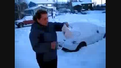 یخ زدن آب جوش!!!