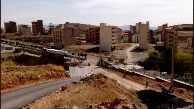 احداث جاده آسفالته جدید برای دسترسی شهرک نور