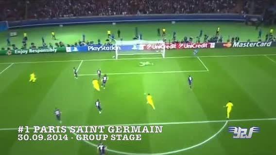 10 گل لیونل مسی در لیگ قهرمانان اروپا 2015