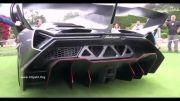 Lamborghini Veneno (نمای بیرونی.نمای داخلی.صدای اگزوز)
