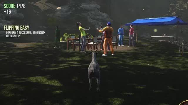 لحظات خنده دار بازی Goat Simulator (( فوق خنده دار ))