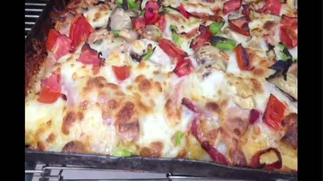 دستگاه فر پیتزا