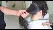 آموزش شینیون موی ساده و راحت!!!!
