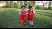 فوتبالیست کوچولوهای مدرسه فوتبال امید مینودشت