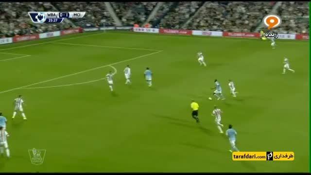 خلاصه بازی وست برومویچ 0-3 منچسترسیتی