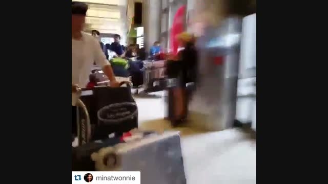 ♥اوپا لی مین هو♥ ۲۰۱۵.۷.۵ فرودگاه لس آنجلس 2